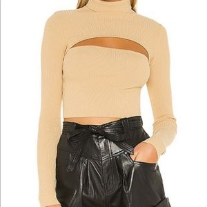 Superdown tasha cut out sweater-revolve